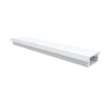Profilo da incasso alluminio 2mt.