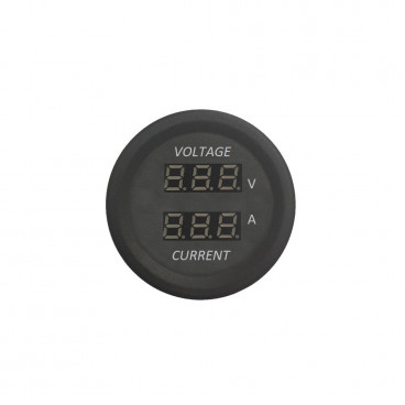 Display voltmetro-amperometro ad incasso