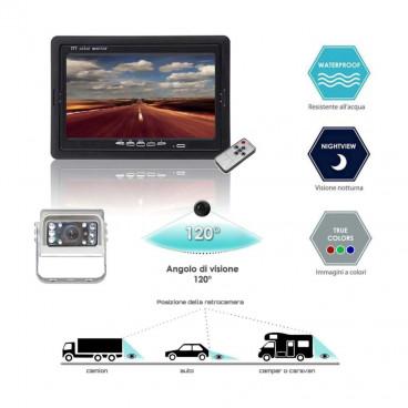 Sistema di retrovisione con monitor...