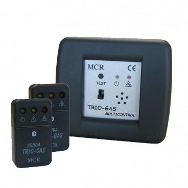 Trio-gas Multicontrol a incasso 2 sonde